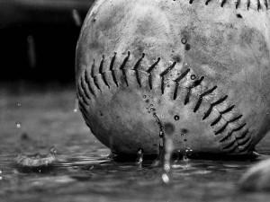Baseball-Rain